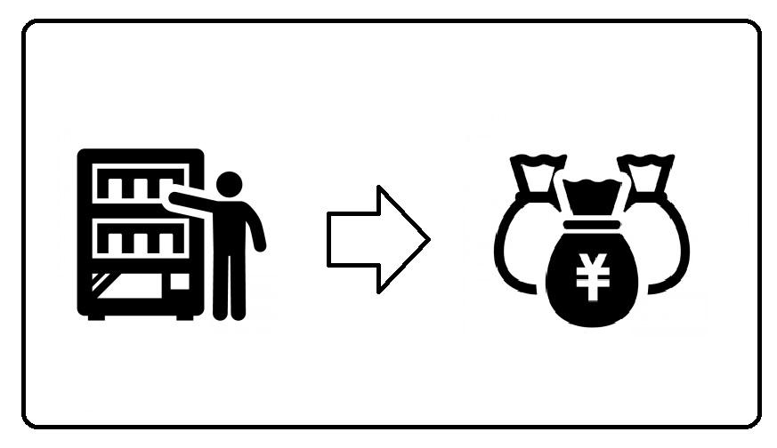 自販機のロケフィーって知ってますか?【レベル1】
